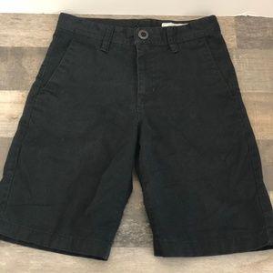 Volcom Big Boys Frickin Chino Shorts – Black